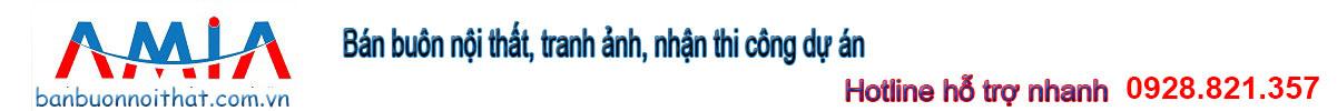 Bán buôn bán sỉ nội thất và tranh treo tường, làm dự án Logo