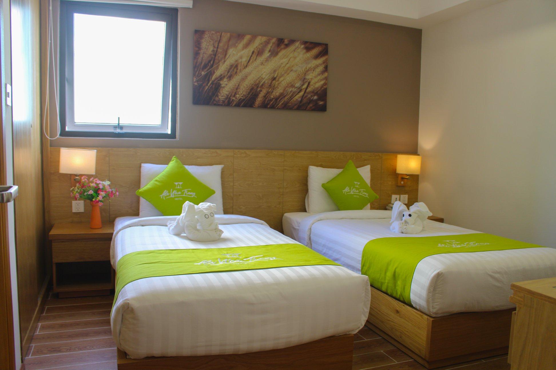 Tranh in canvas tại khách sạn Ale Nha Trang