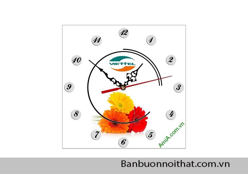 Amia nhận in tranh đồng hồ quảng cáo cho doanh nghiệp