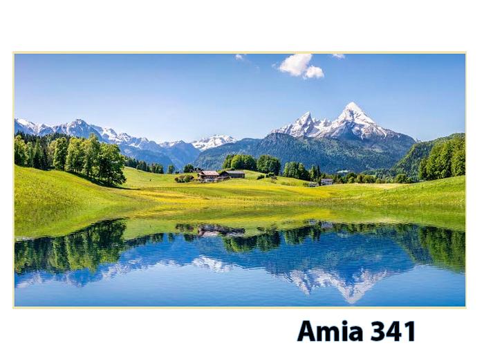 Tranh phong cảnh khổ lớn sơn thủy hữu tình phong cảnh nước Đức được nhiều khách hàng chung cư lựa chọn