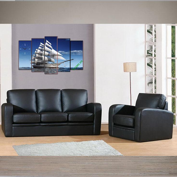 Tranh thuận buồm xuôi gió khi đi với sofa da văn phòng màu đen