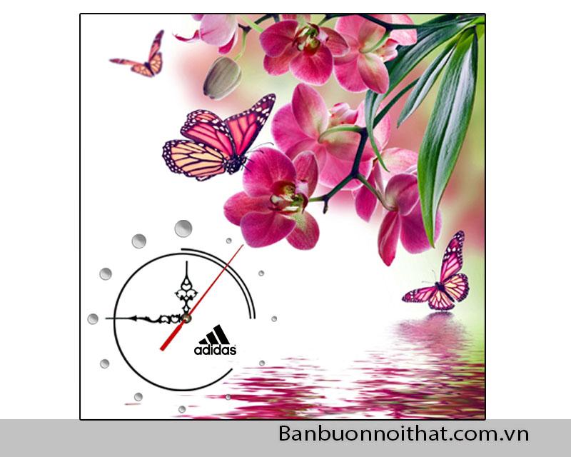 Quy cách của tranh đồng hồ thường được làm trên chất liệu in siêu nét, cán gỗ