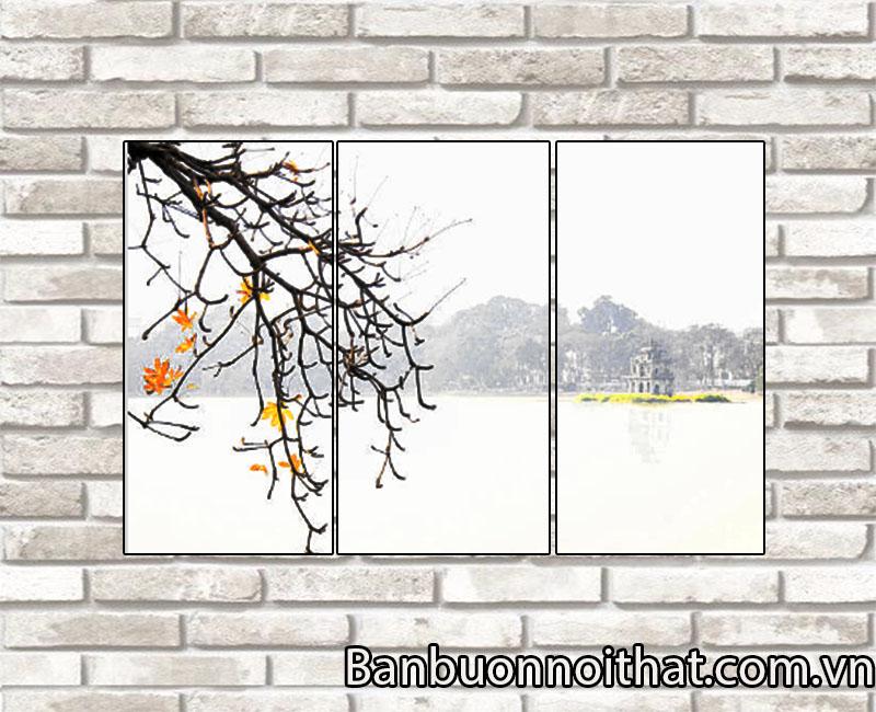 Một mẫu tranh về Hà Nội mang chút buồn lãng mạn của mùa thu