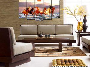 Tranh mã đáo thành công đẹp trong mọi không gian nội thất