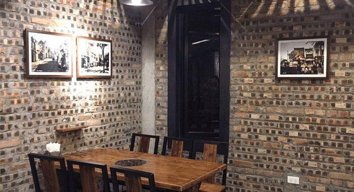 Tranh phố cổ trang trí quán cà phê không bao giờ lỗi mốt