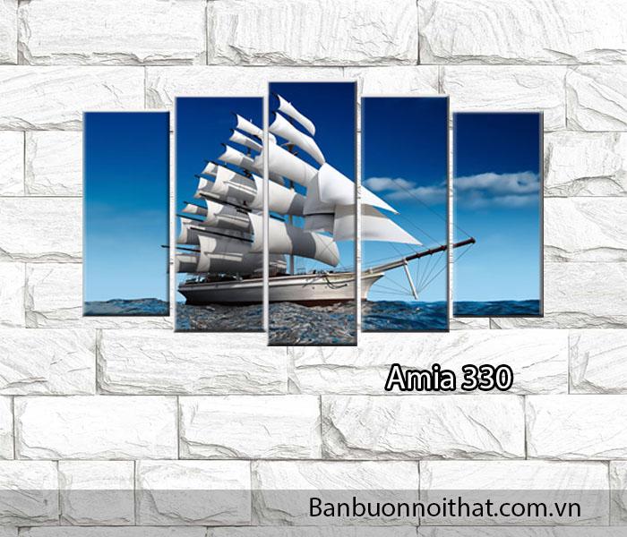 Tranh thuận buồm xuôi gió hiện đại được lựa chọn làm quà tặng tân gia, quà tặng khai trương