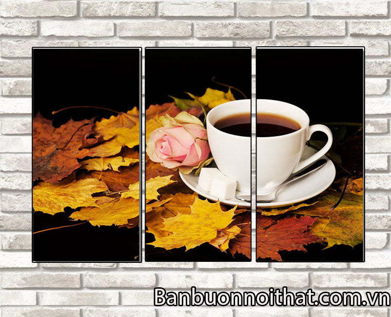 Những mẫu tranh mang đậm hương vị thưởng thức cà phê