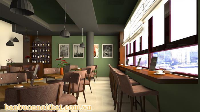 Tranh đen trắng trang trí quán cà phê nhỏ cho không gian thêm nhiều khoảng thở hơn