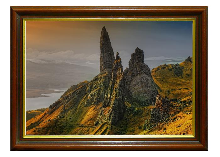 Tranh phong cảnh Scotland mang đậm chất nghệ thuật