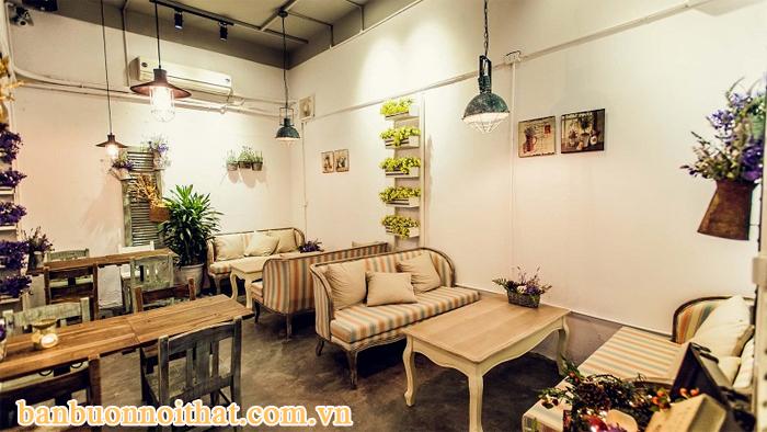 Tranh trang trí quán cà phê nhỏ nghệ thuật ấn tượng