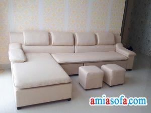 Mẫu sofa nỉ đẹp, có nhiều họa tiết hoa văn để lựa chọn