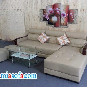 Hình ảnh mẫu sofa đẹp chữ L