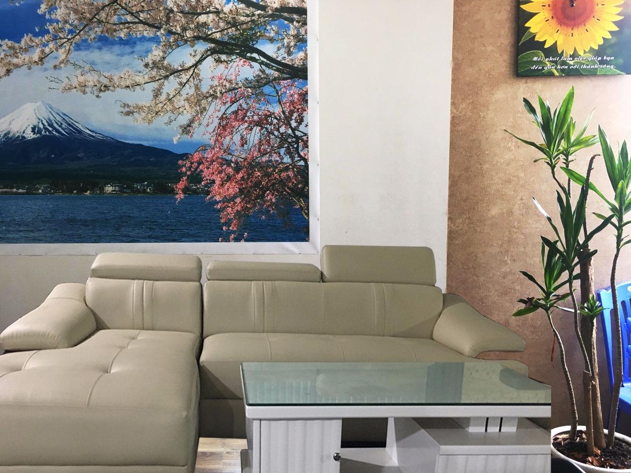 Tranh in canvas thường được căng lên sắt si trước khi căng lên tường