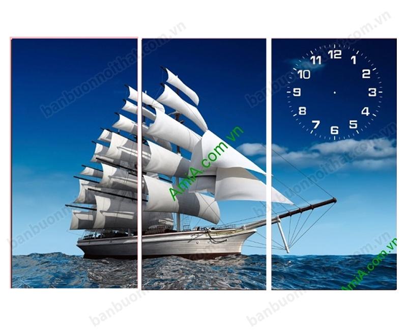 Mẫu tranh thuận buồm xuôi gió được nhiều người yêu thích