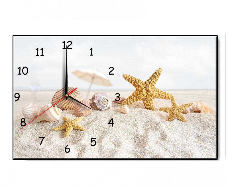 Mẫu tranh để bàn sao biển gợi nhớ một mùa hè sôi động