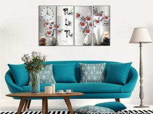 Tranh đồng hồ Phúc Lộc Thọ, mẫu tranh Phúc Lộc Thọ, nơi bán, địa chỉ bán