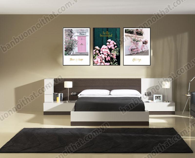 Mẫu tranh canvas TCV-V01 trang trí phòng ngủ đẹp