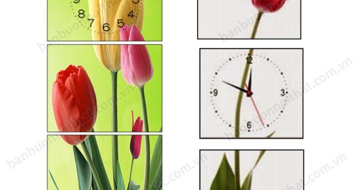 Tranh đồng hồ dọc chát lượng cao, nơi bán, địa chỉ mua, Xưởng tranh Amia