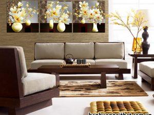 Mẫu tranh treo tường ghép bộ hiện đại đẹp
