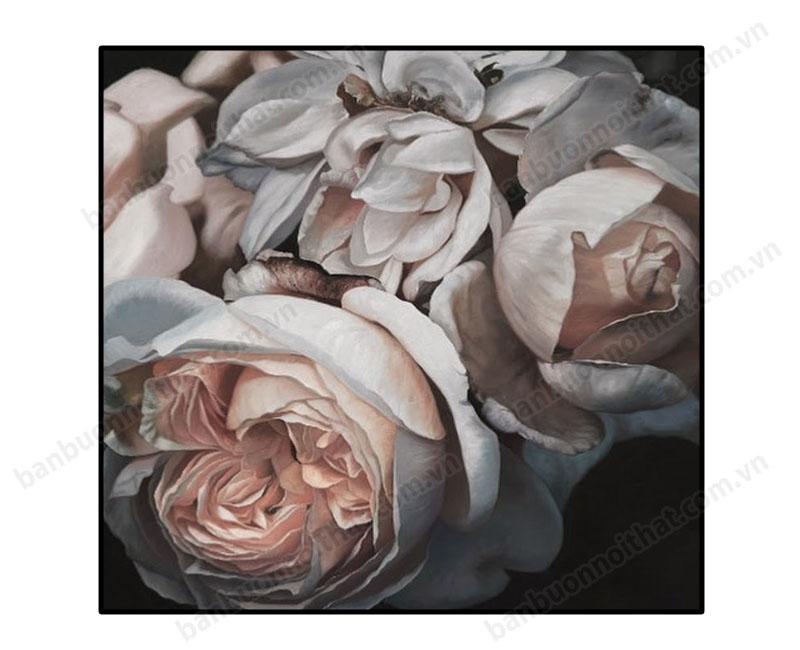 Tranh treo tường hiện đại hoa hồng Abb210818
