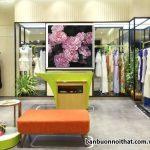 Tranh canvas đẹp trang trí shop thời trang nữ, tranh canvas Hà Nội