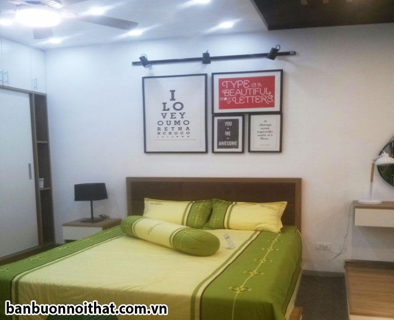 Bộ tranh canvas chữ trang trí phòng ngủ hiện đại