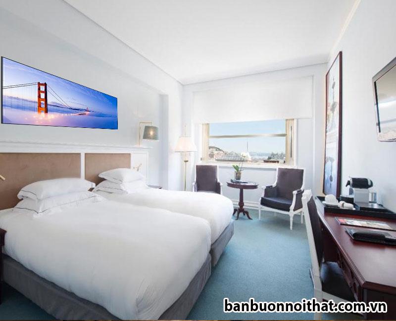 Không gian sang trọng xứng tầm đẳng cấp 5 sao với top 3 tranh treo khách sạn 5 sao được yêu thích