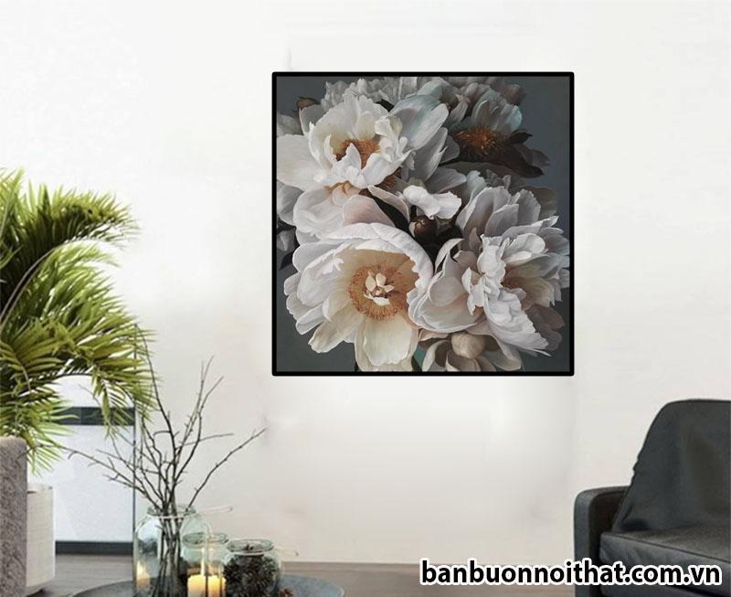 Mẫu tranh in canvas treo tường hiện đại đẹp