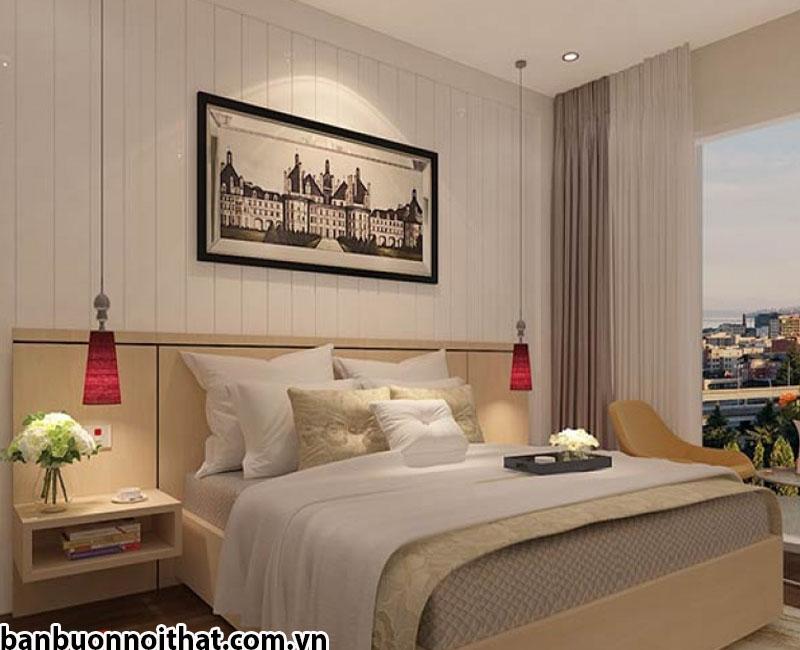 Tranh đen trắng chụp phong cảnh, nơi khách sạn đặt địa điểm