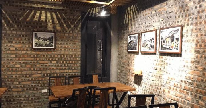 Tranh đen trắng cho nhà hàng khách sạn, nhà theo phong cách Hà Nội xưa