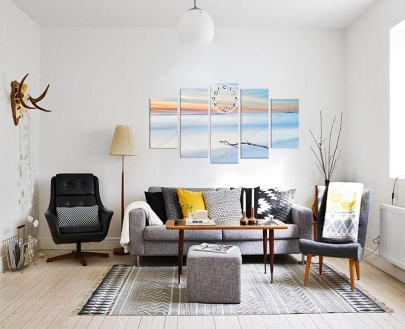 Tranh dùng để trang trang trí phòng khách phong cách Bắc Âu