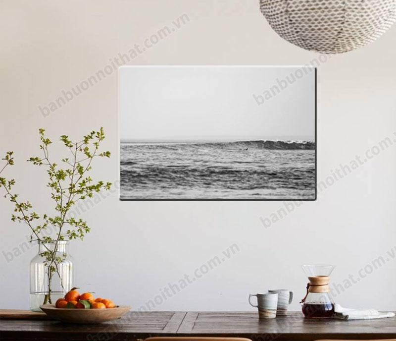 Tranh canvas phong cảnh biển trang trí 1 góc thư giãn trong nhà