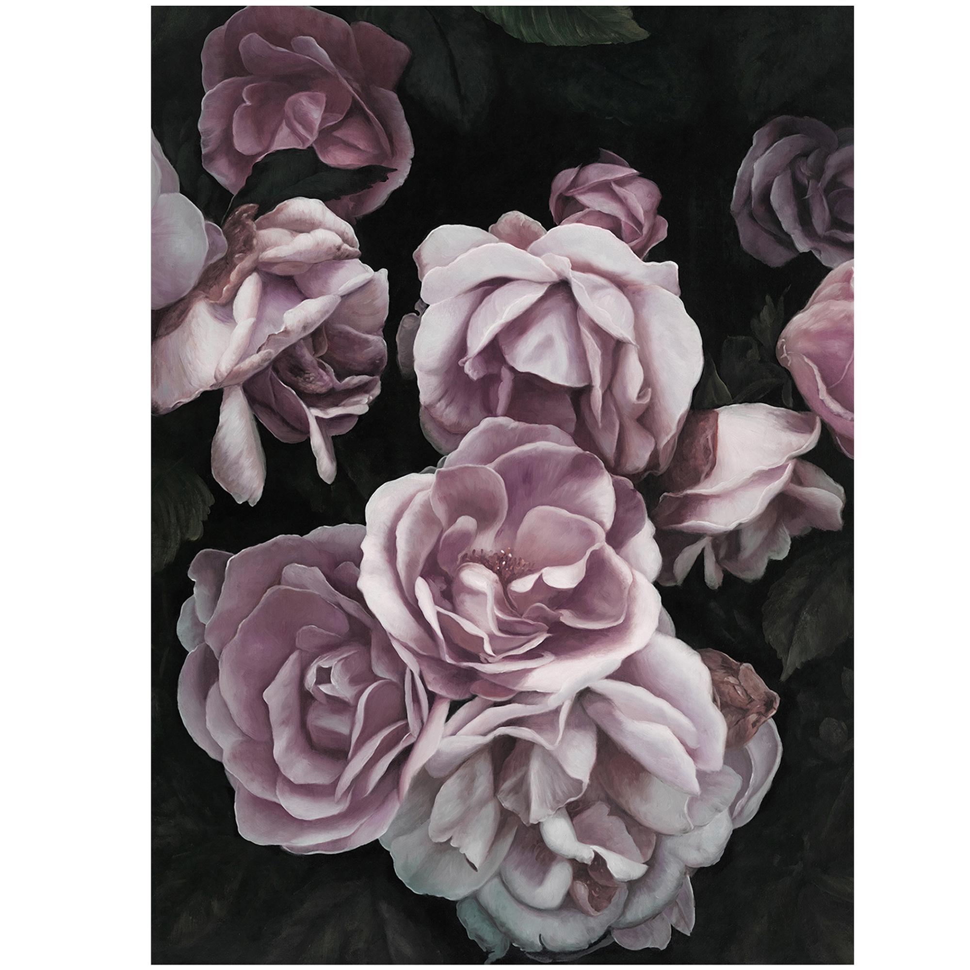 Mẫu tranh hoa hồng đẹp không khung, Tranh in canvas nhẹ, an toàn