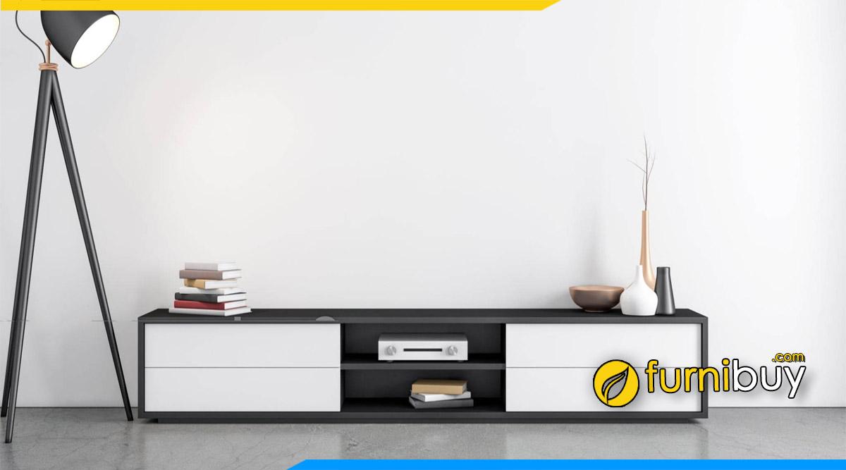 Kệ tivi bệt đẹp đặt sàn cho chung cư nhỏ hiện đại