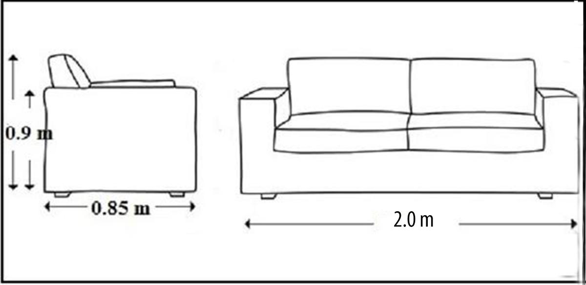 Mẫu ghế sofa da nhỏ gọn mini đẹp
